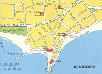 Guide to Benidorm on the Costa Blanca Benidorm Guide