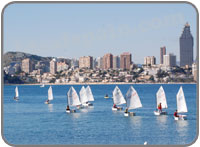 Sailing lessons in benidorm
