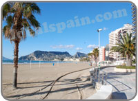 Calpe beaches
