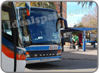 Buses in Denia