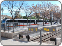Trains in Denia