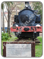 Gandia Steam Train