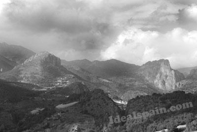 Jalon Valley Spain Jalon Valley