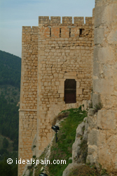 The castle of Jaen